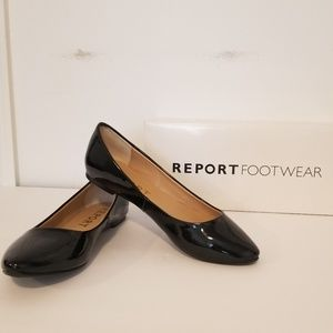 Patent Leather Report Flats